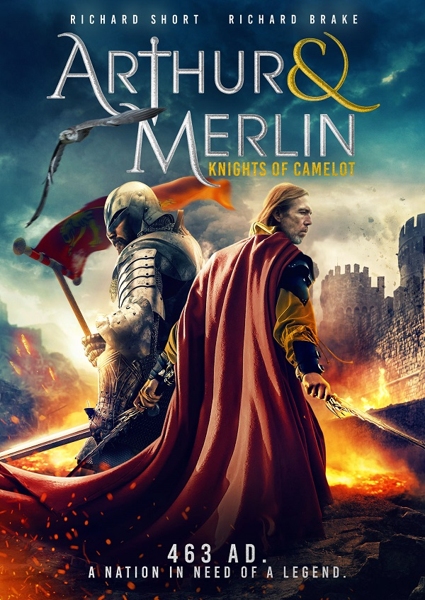 ARTHUR & MERLIN - UK POSTER
