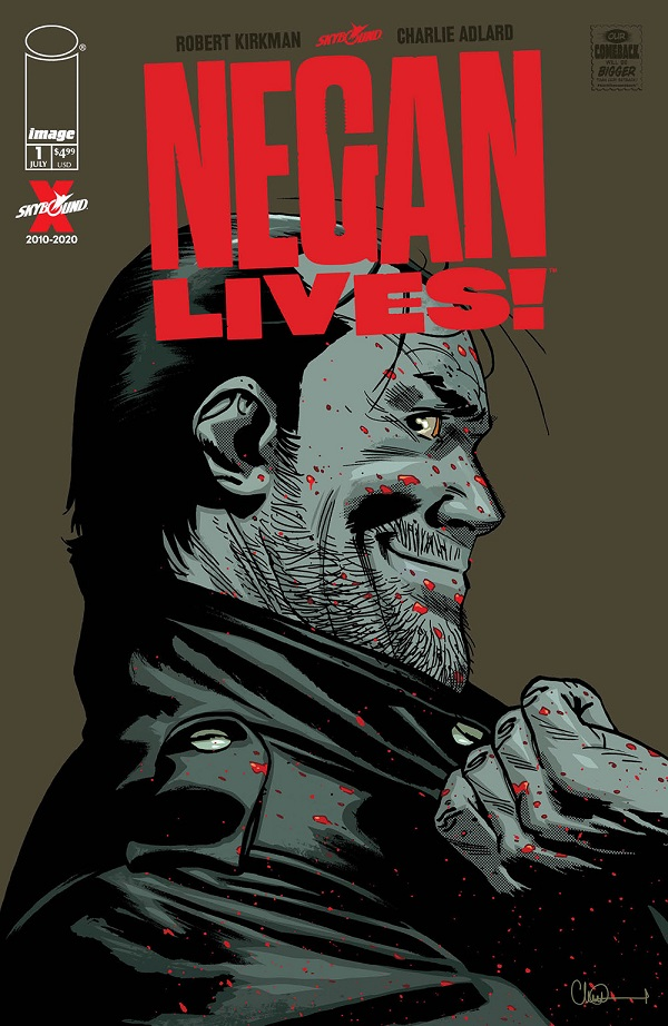 Negan Lives cover