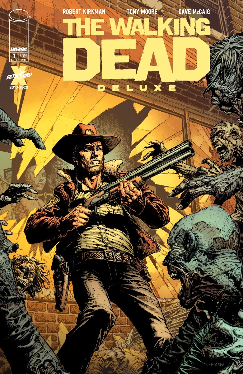 The Walking Dead Deluxe Issue 1