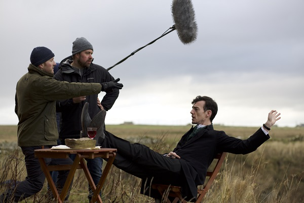 Fionn and Toby direct William