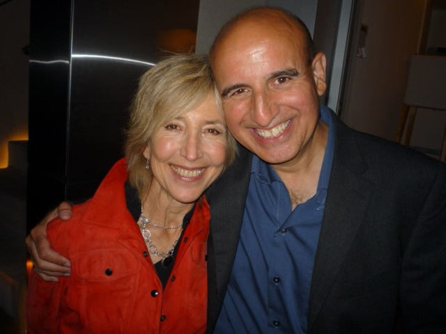 Lin Shaye and Ruben Pla