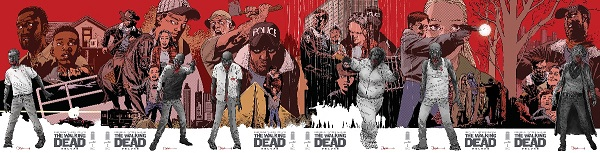 The Walking Dead connected covers