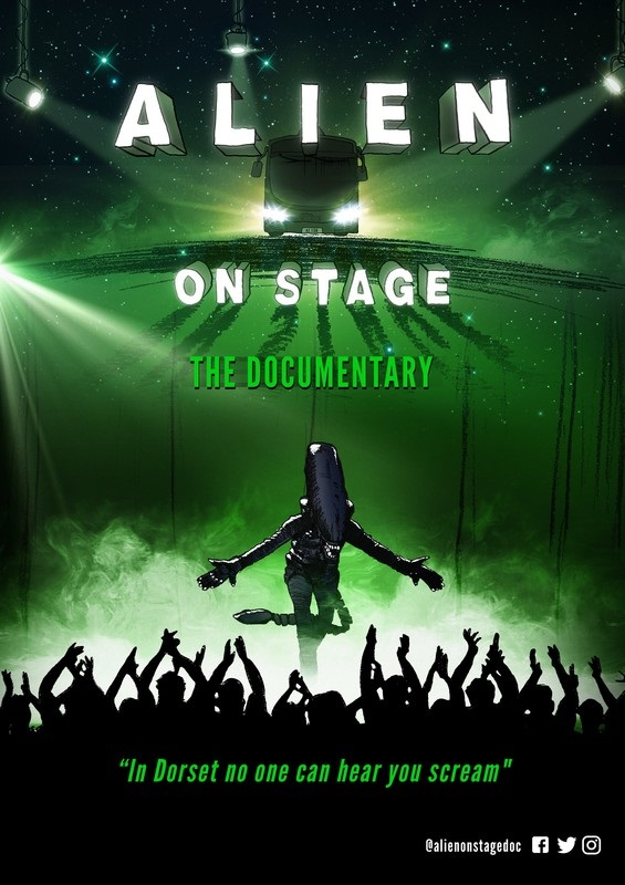 alien-on-stage-poster