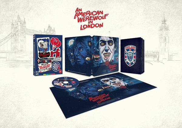 An American Werewolf in London exploded pack shot