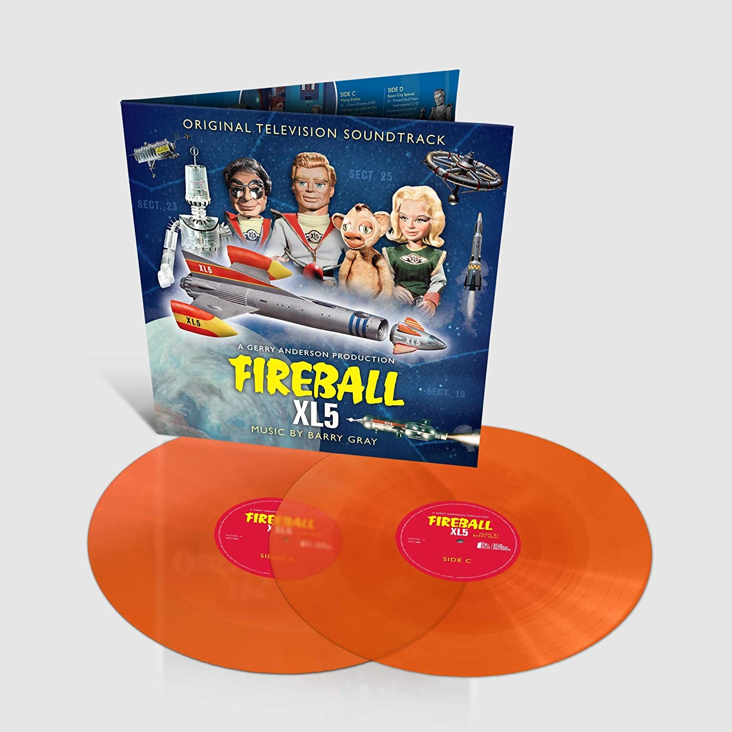 Fireball XL5 LP Cover