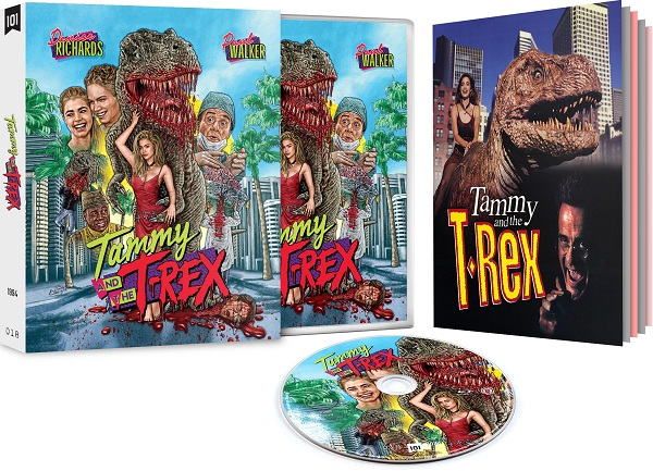 Tammy and the TRex Exploded pack shot