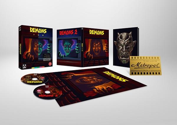 Demons 4K Cover