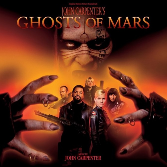 Ghosts of Mars cover