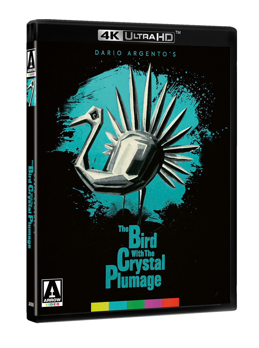 The Bird with the Crystal Plumage Cover