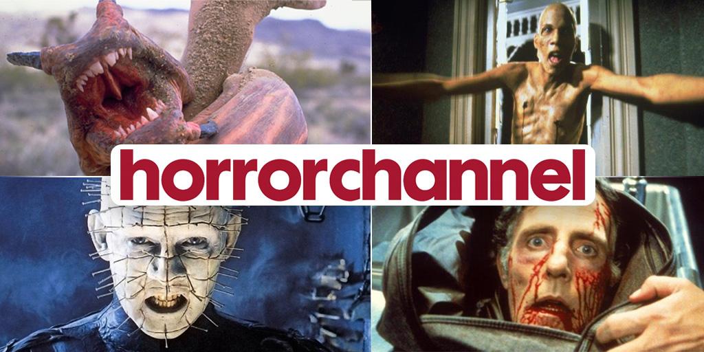 Horror Channel - Aug tweet banner