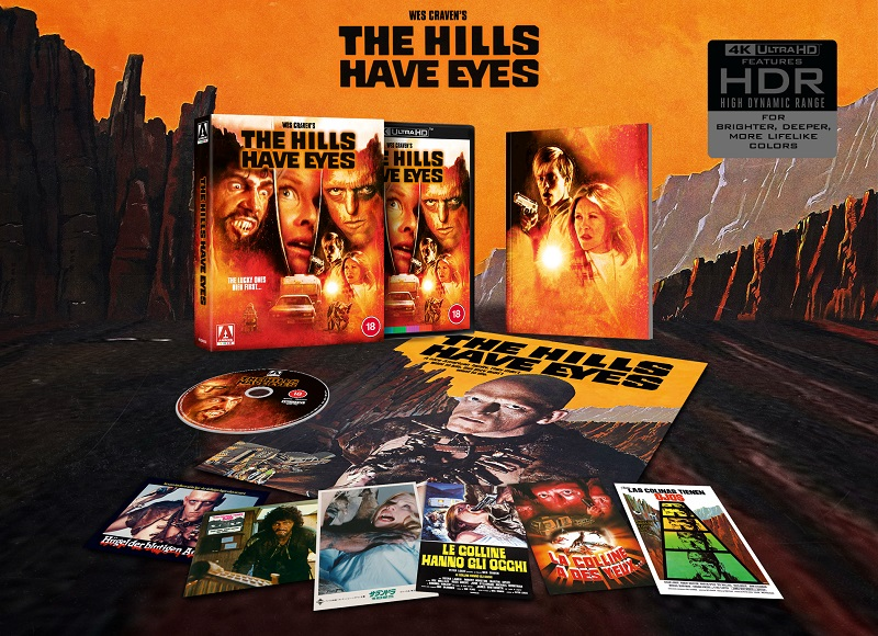 THE HILLS HAVE EYES EXPLODED PACK