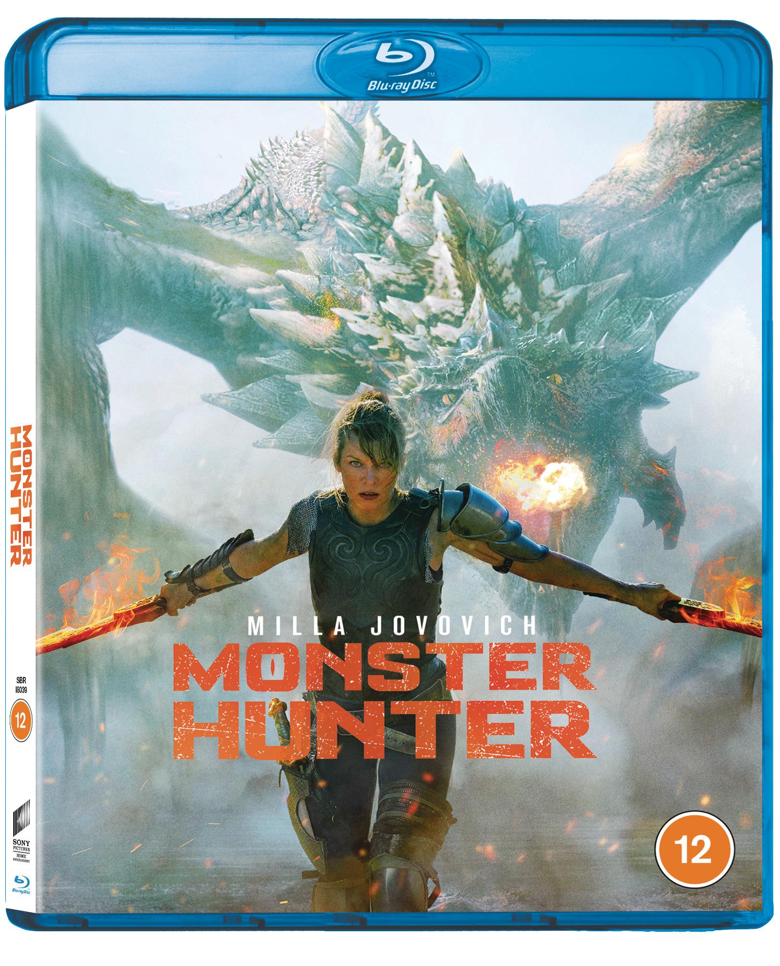 Monster Hunter Blu-ray Cover