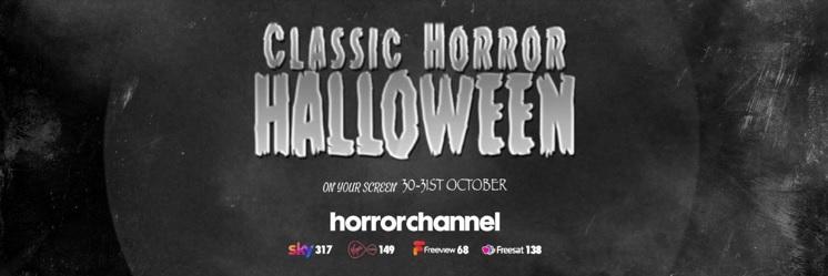 Classic Horror Halloween Banner